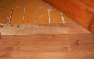 Можно ли класть линолеум на деревянный пол