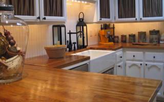 Как отремонтировать столешницу на кухне
