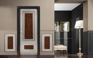Как можно декорировать старую дверь