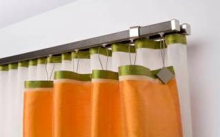 Как крепить пластиковый карниз к стене