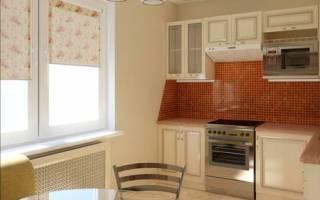 Как обустроить кухню 7 кв м