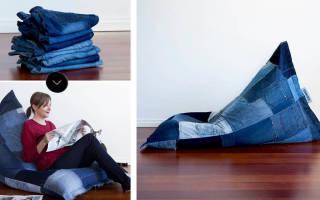 Как сделать бескаркасную мебель своими руками