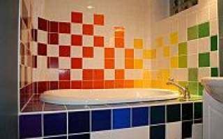 Можно ли красить кафельную плитку в ванной