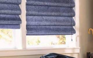 Как сделать римскую штору в домашних условиях