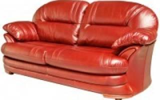 Как заделать дырку в кожаном диване