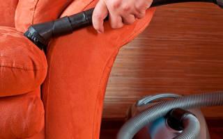 Как мыть диван в домашних условиях
