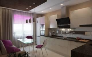Как расставить мебель на кухне 12 кв м