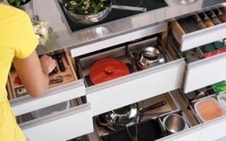 Как хранить ложки и вилки на кухне