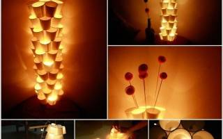 Как сделать ночник из дерева со светодиодами