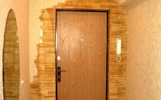 Как облагородить входную дверь изнутри