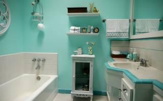Как правильно покрасить ванную комнату