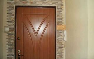 Как облагородить дверной проем входной двери