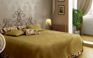 Где лучше поставить кровать в спальне