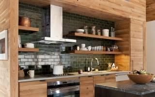 Как спрятать вытяжную трубу на кухне