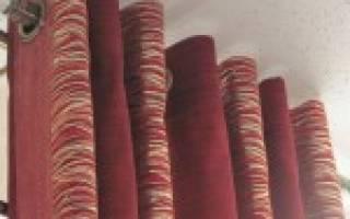 Как сделать шторы на люверсах своими руками