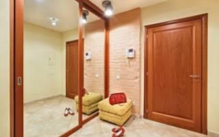 Как построить коридор в частном доме