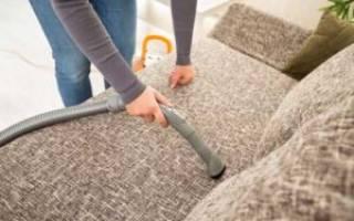 Как вычистить диван в домашних условиях