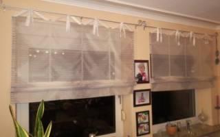 Роликовые шторы своими руками