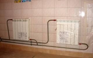 Как подключить биметаллический радиатор отопления