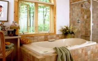Как обустроить ванную комнату в частном доме