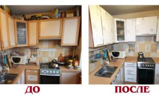 Можно ли покрасить кухонный гарнитур