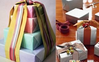 Как обернуть книгу подарочной бумагой