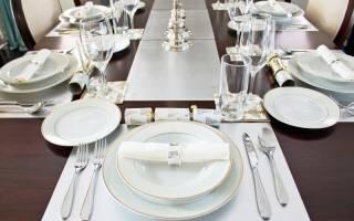 Как правильно сервировать стол к празднику
