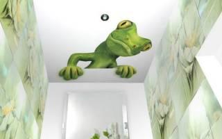 Как помыть подвесной потолок