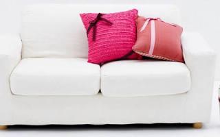 Химчистка мягкой мебели в домашних условиях