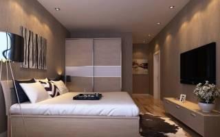 Как правильно ставить кровать в комнате