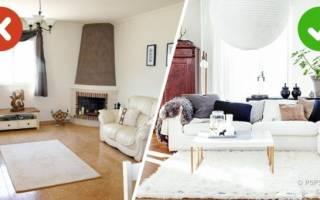 Как обустроить гостиную в частном доме