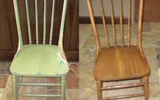 Как обновить стулья в домашних условиях