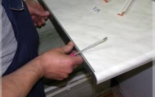 Как правильно установить столешницу на кухонном гарнитуре