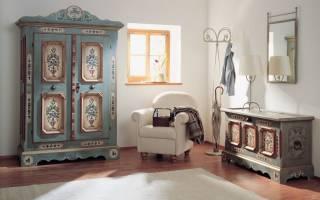 Реставрация мебели в стиле прованс своими руками