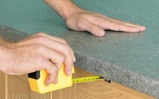 Как закрепить столешницу на кухонном гарнитуре
