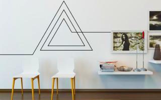 Как скрыть провода на стене декор