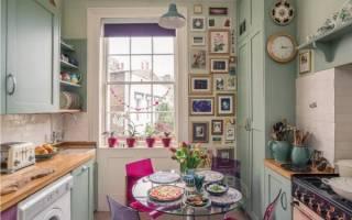 Как украсить интерьер кухни своими руками