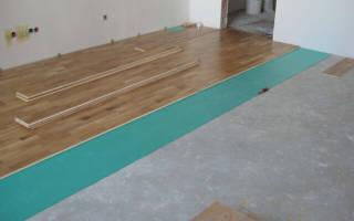 Ламинат как уложить правильно на бетон