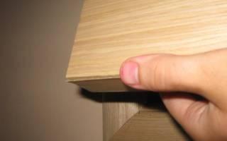 Как отремонтировать мебель из ДСП своими руками