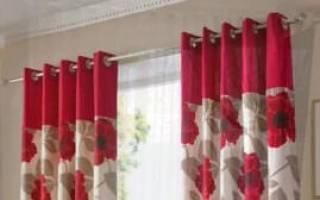 Как пошить шторы с люверсами самостоятельно