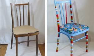 Как покрасить старую мебель своими руками