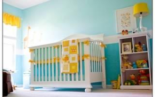 Как правильно поставить детскую кроватку в комнате