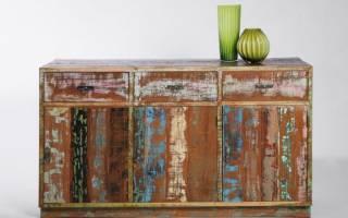 Отделка старой мебели своими руками