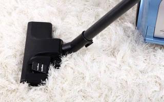 Как чистить ковер с длинным ворсом дома