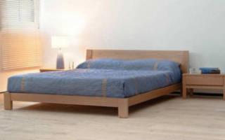 Как сделать деревянную кровать своими руками чертежи