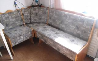 Как из углового дивана сделать обычный