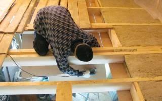 Как утеплить потолок в деревянном доме минватой