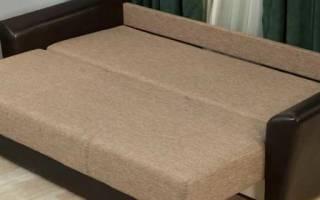 Как сложить диван книжку