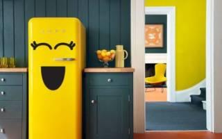 Как обновить холодильник своими руками пленкой