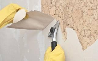Как снять моющиеся обои со стены быстро
